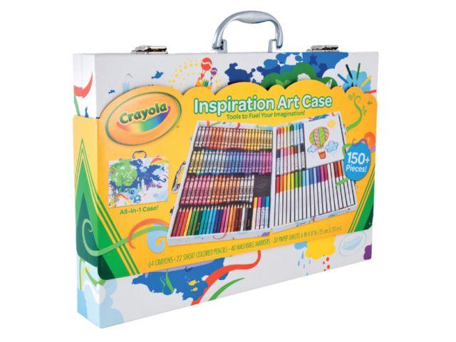 Malette De Coloriage Crayola Inspiration Art 150 Pieces Discountoffice Be