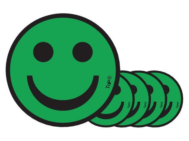 Smit Visual Aimant Smiley 2 5cm émotion Content Vert